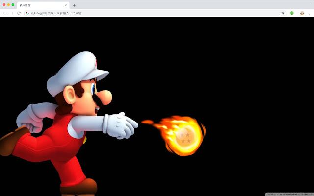 Super Mario Top games HD New Tabs Themes