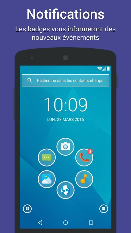 Smart Launcher 3 – Capture d'écran