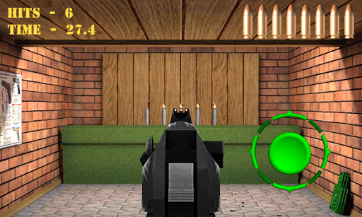 Pistol shooting at the target.  Weapon simulator 4.0 screenshots 6