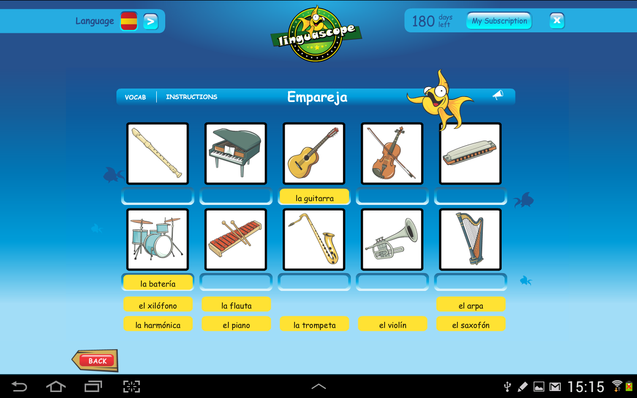 Linguascope Beginners Spanish- screenshot