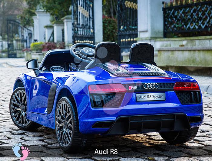 xe hơi điện cao cấp cho bé R8 Audi
