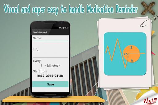 Pill Medication Reminders App