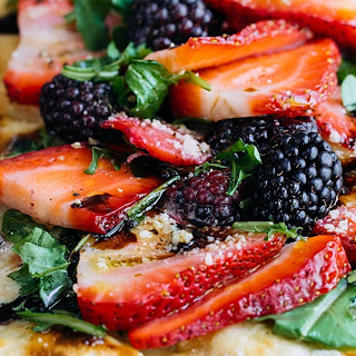 Topping Grilled Flatbread Pizza Recipe