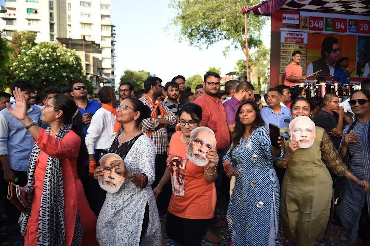 Modi fans celebrate his win, saying 'the lion returns'