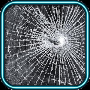 خدعة الشاشة المكسورة - مقلب