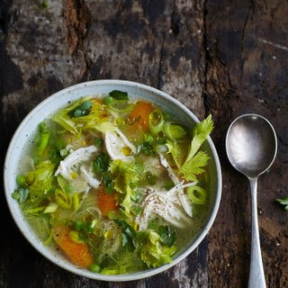Chicken Vegetable Soup Leek Recipes