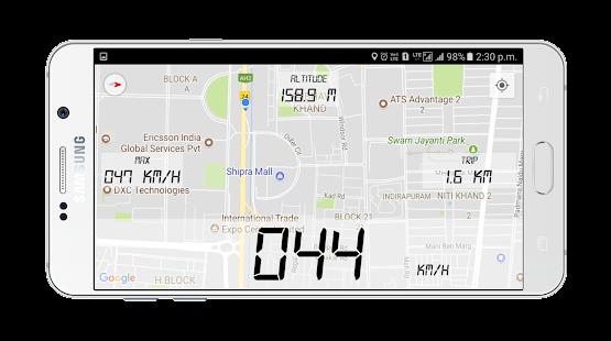 Speedometer GPS - DigiHUD, Trip Meter, Odometer - náhled
