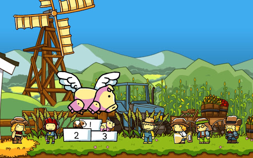 Screenshot for Scribblenauts Unlimited in United States Play Store