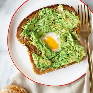 Avocado Eggs In A Basket