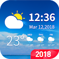 7- day weather forecast and daily temperature APK