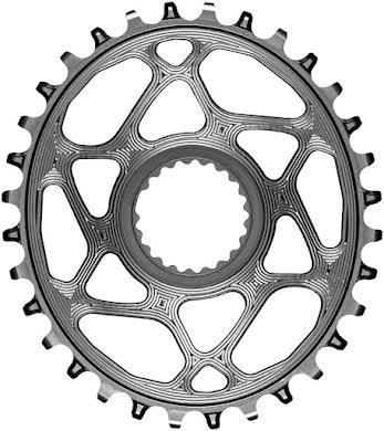 Absolute Black Oval Direct Mount Chainring - Shimano Direct Mount, 3mm Offset, Requires Hyperglide+ Chain alternate image 13