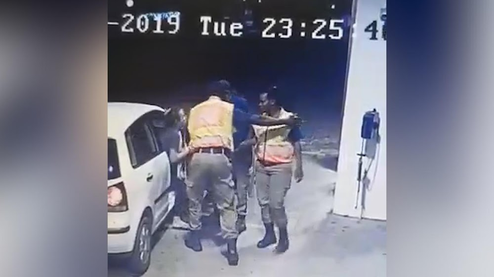 WATCH | Woman 'manhandled' by Tshwane metro cops at petrol station - TimesLIVE