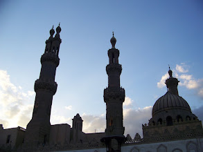 Photo: Towers of the mosque.