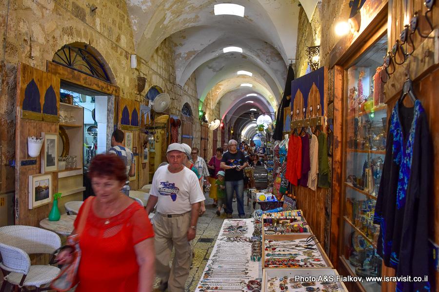 Турецкий базар - рынок в Акко. Экскурсия в Акко гида Светланы Фиалковой.
