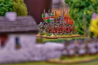 Photo: Gli ugonotti francesi del reggimento du Cambon (miniature Venexia, materiale scenico autocostruito)