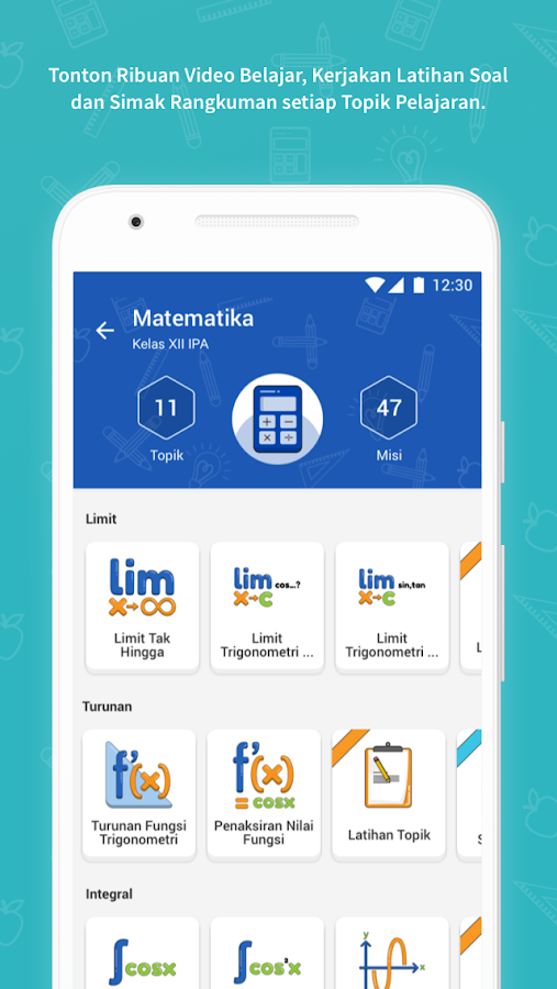 Ruangguru  Aplikasi Belajar Nomor 1  Apl Android di Google Play
