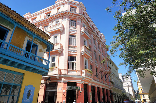 """The Hotel Ambos Mundos in Havana, where Ernest Hemingway began penning """"For Whom the Bell Tolls"""" in 1939."""