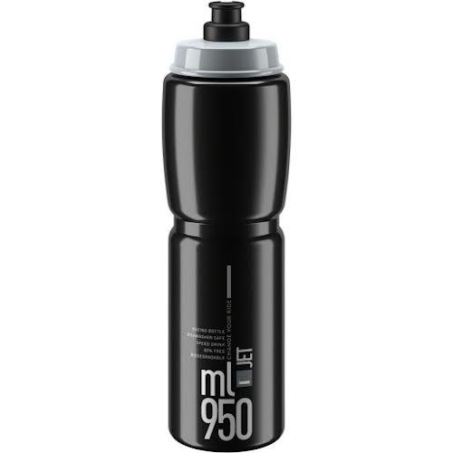 Elite SRL SRL Jet Water Bottle - 950ml, Black/Gray
