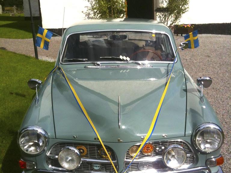 Volvo Amazon Sport Hire Stockholm