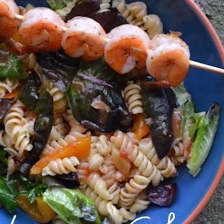 Spring Shrimp Pasta Salad.