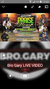 Bro Gary Radio Show Screenshot