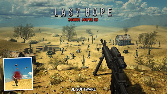 Last Hope – Zombie Sniper 3D v6.0 (Mod Money) 3