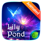 Lily Pond Animated Go Keyboard Theme