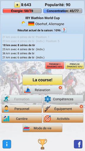 Télécharger Biathlon Manager 2020 APK MOD 2