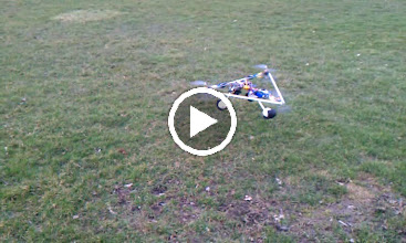 Video: T-6 Second Generation Flying barely stable. The First Generation was unstable due to vibration.