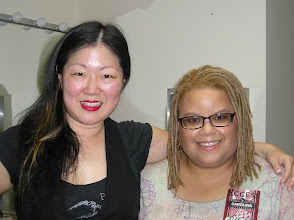 Photo: Margaret Cho, when she performed here in Durham.