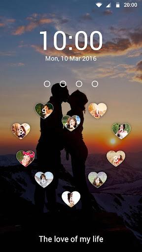Love keypad lockscreen for PC