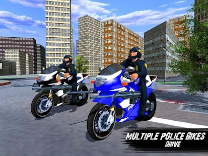Police Bike - Gangster Chase мод