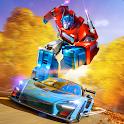 Car Transformation Horse Robot Game icon