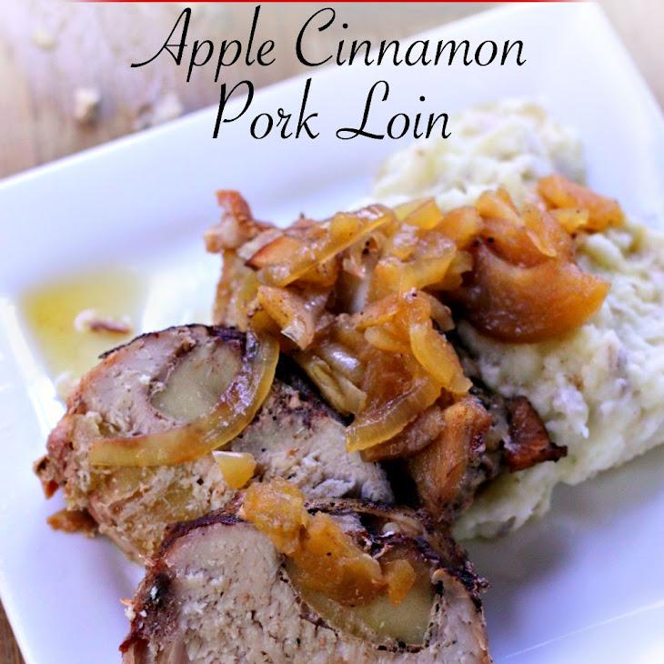 Apple Maple Pork Loin Recipe