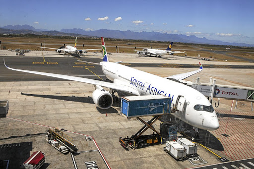 The public enterprises department urges SAA unions to accept three months of deferred salaries. File photo.