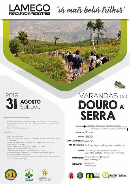 """""""Varandas do Douro à Serra"""" percorre sábado 12 quilómetros"""