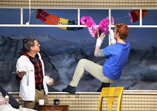 """Photo: WIEN/ Theater in der Josefstadt: """"Totes Gebirge"""" von Thomas Arzt. Inszenierung: Stephanie Mohr. Premiere am 21.1.2016. Peter Scholz, Stefan Gorski.. Copyright: Barbara Zeininger"""
