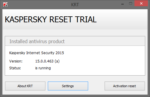 Download Kaspersky Reset Trial 5.0.0.112