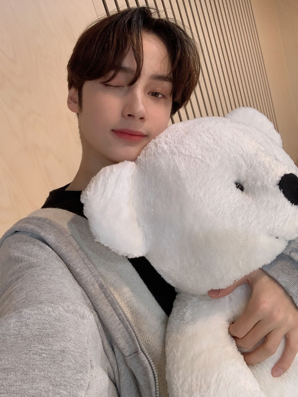 txt hueningkai plush stuffed animal weverse
