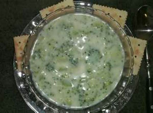 Broccoli Spinach Cream Soup Recipe