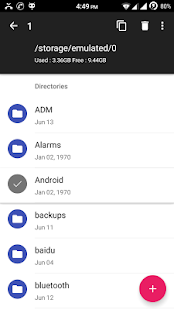 Amaze File Manager Screenshot