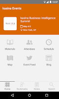 Screenshot of kasina Events