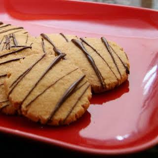 Peanut Butter Shortbread Cut-Out Cookies.