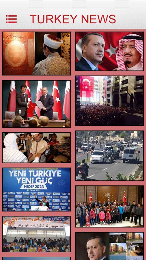 Turkey News 2023- screenshot