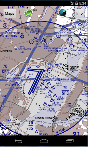 HeliChart- USA Helicopter Maps