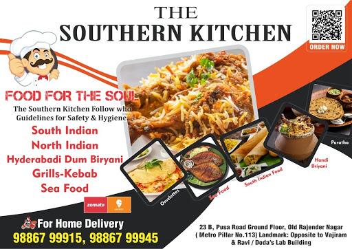 THE SOUTHERN KITCHEN menu 1
