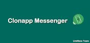 (APK) تحميل لالروبوت / PC Clonapp messenger تطبيقات screenshot