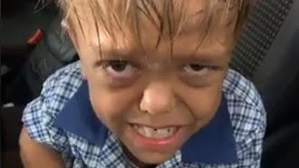 Captura de pantalla del vídeo publicado por la madre del menor.