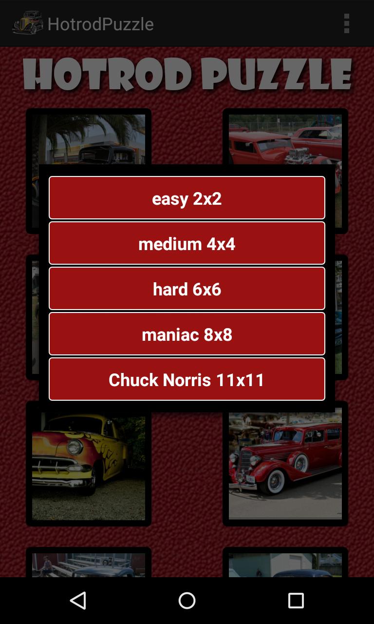 Скриншот Хотрод Головоломка