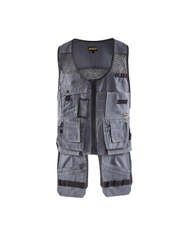 Hantverksväst Blåkläder Grå/Svart